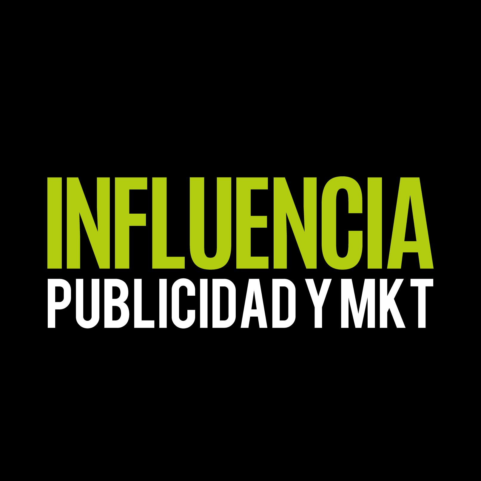INFLUENCIA PUBLICIDAD | DISEÑO DE LOGOS